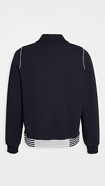 Lacoste Striped Tipping  Jacket
