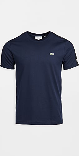 Lacoste - Colorblock T-Shirt with Tape On Shoulder