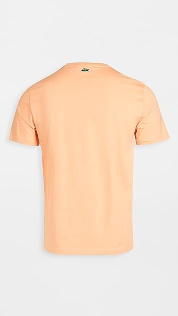 Lacoste Graphic Lacoste Script T-Shirt