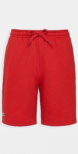 Lacoste - Solid Fleece Shorts