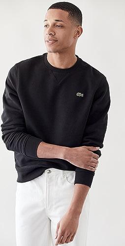 Lacoste - Solid Crew Neck Sweatshirt