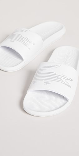 Lacoste - Croco Slides