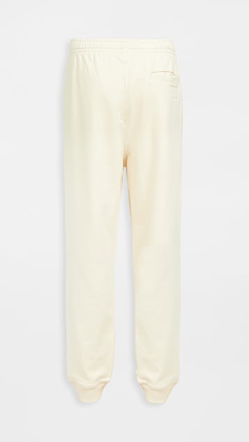 Lacoste Solid Non Brushed Joggers Tapered