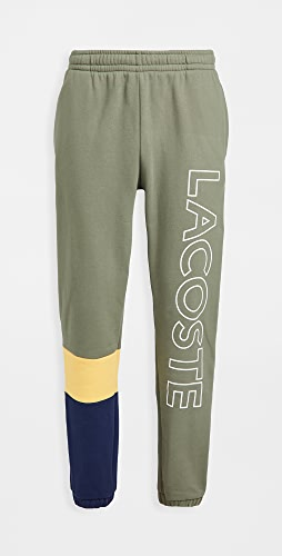 Lacoste - Colorblock Fleece Track Pants