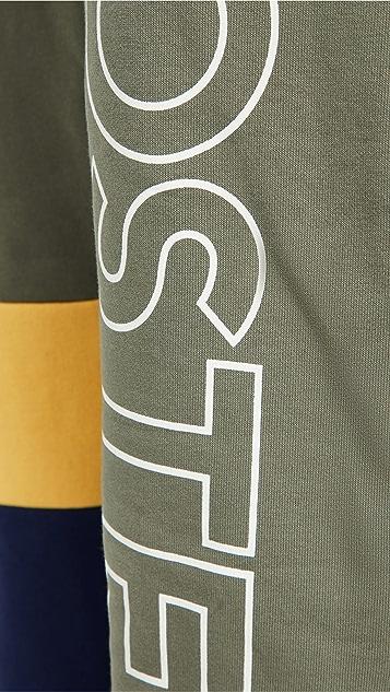 Lacoste Colorblock Fleece Track Pants