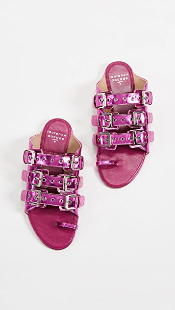 Laurence Dacade Renato Toe Ring Slides