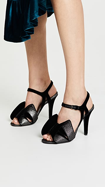 Laurence Dacade Shady Glitter Sandals