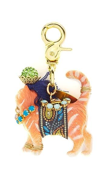 Lenora Dame Cat Bag Charm