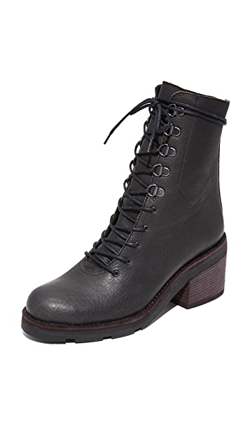 LD Tuttle The Below Lug Sole Combat Boots