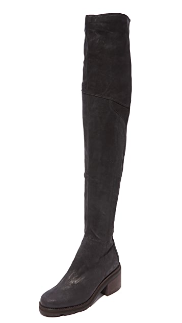 LD Tuttle The Stack Over the Knee Boots