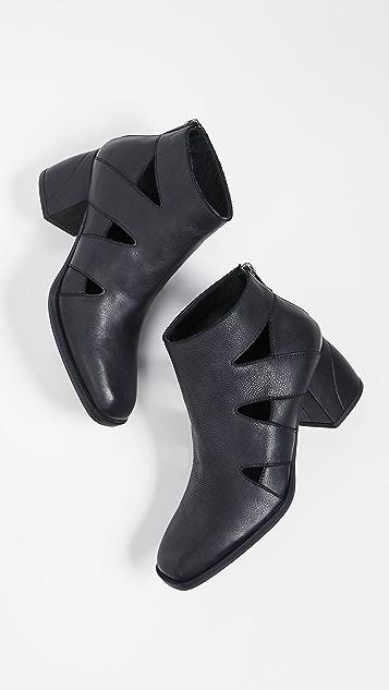 LD Tuttle Acid Block Heel Booties