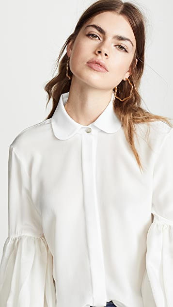Leal Daccarett Ila Long Shirt with Puffy Sleeves