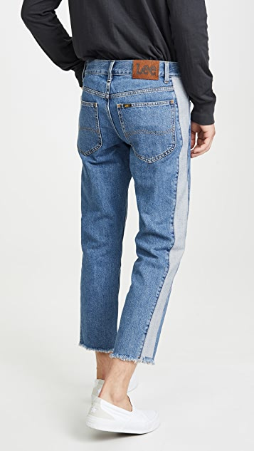 Lee Dad Jeans in Stone Cold Acid Wash