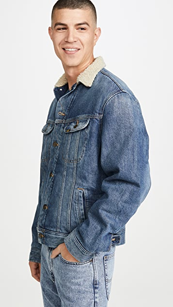 Lee Sherpa Lined Jacket