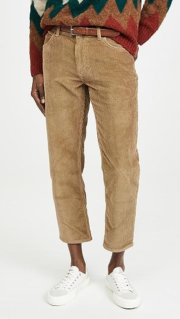 Lee Khaki Corduroy Pants