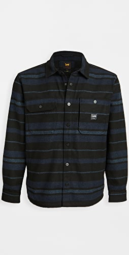 Lee - Box Pocket Long Sleeve Shirt Jacket