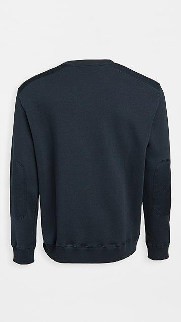 Lee Military Long Sleeve Detail Sweatshirt