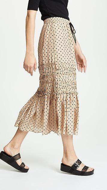 Lee Mathews Ingall Spot Skirt