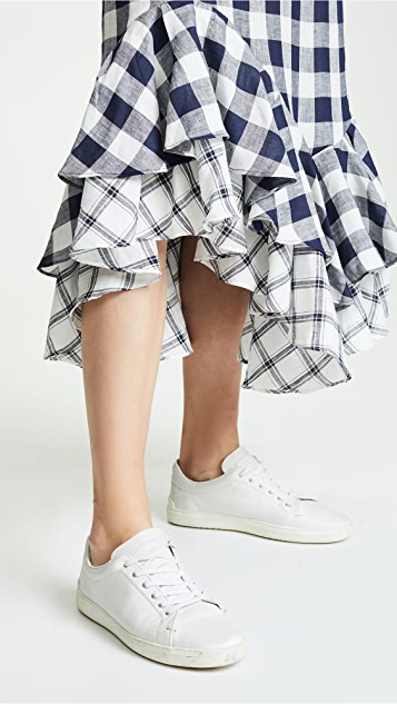Lee Mathews Nellie Checked Skirt