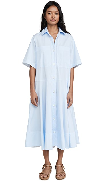 Lee Mathews Alice Pocket Shirt Dress