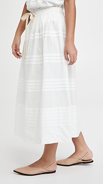 Lee Mathews Robin Pleat Skirt