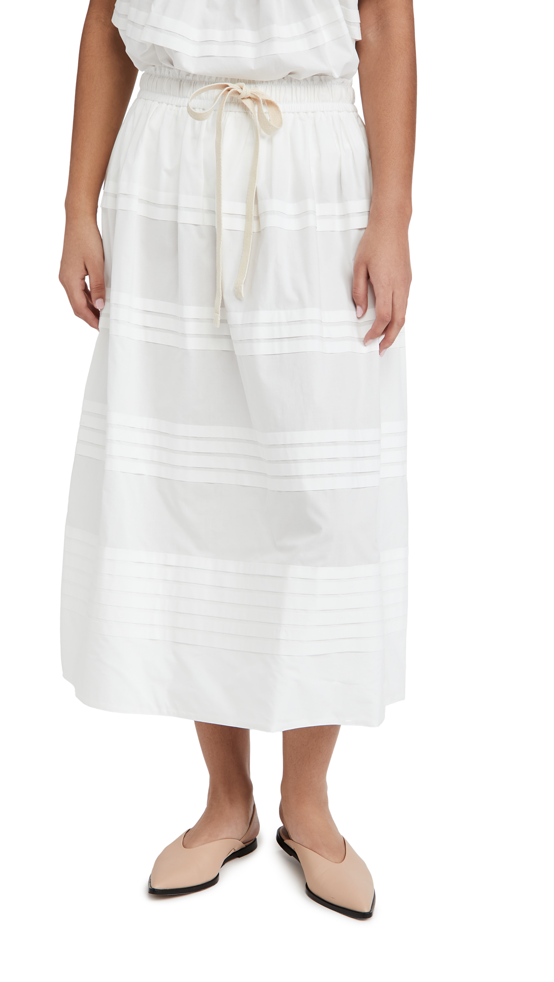 Lee Mathews Robin Pleat Skirt
