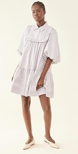 Lee Mathews - Anika Puff Mini Dress