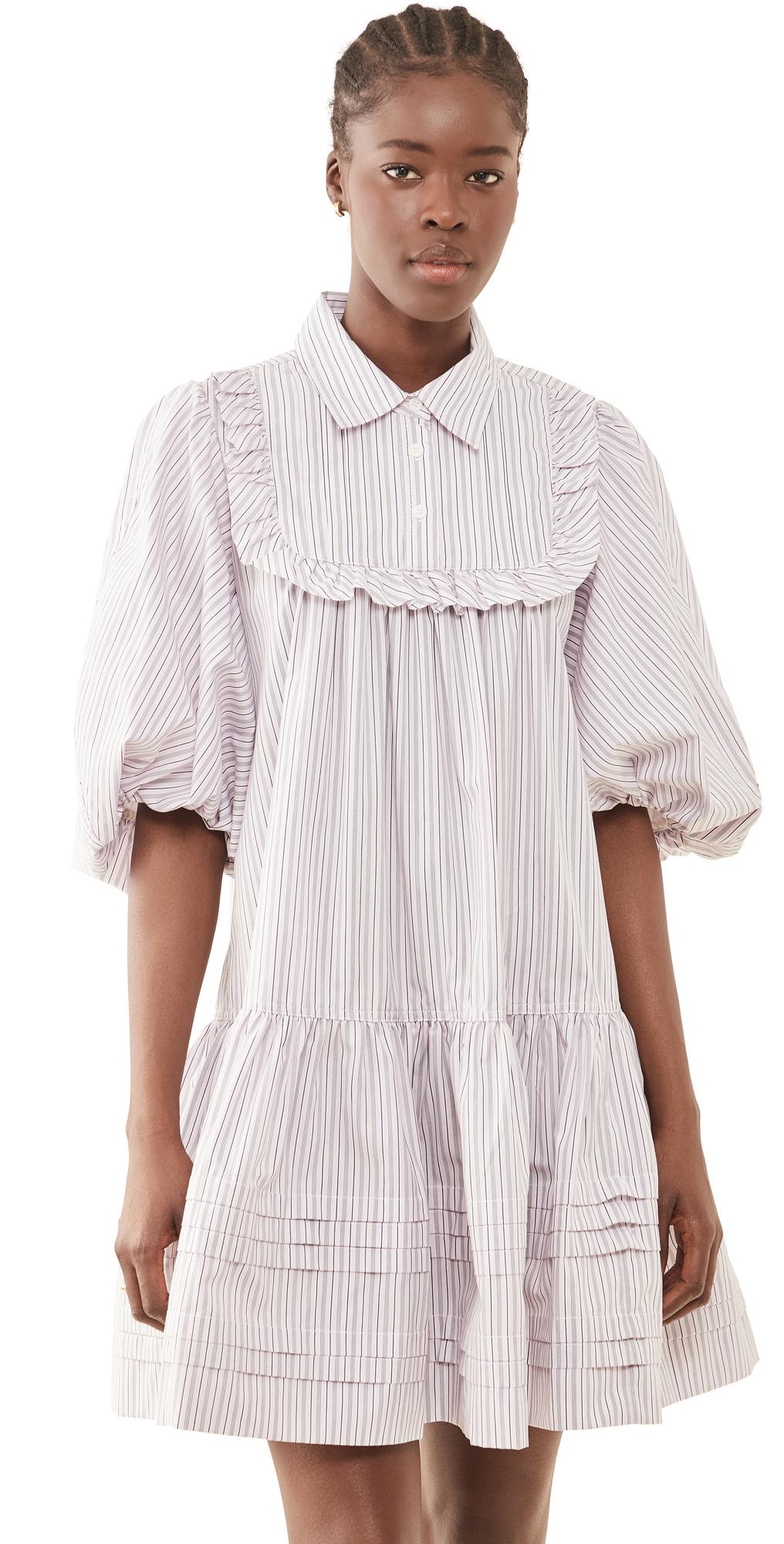 Lee Mathews Anika Puff Mini Dress