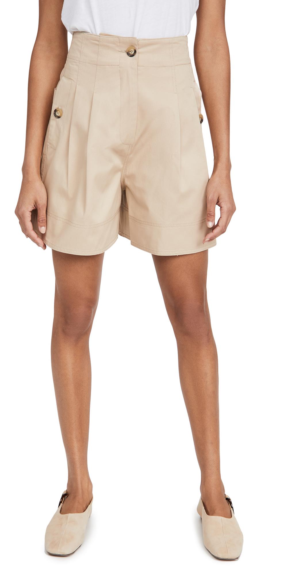 Lee Mathews Hutton Drill Paperbag Shorts