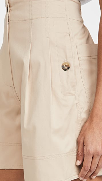 Lee Mathews Hutton Drill 纸包短裤
