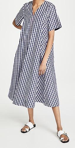Lee Mathews - Bessie Gingham Check Shirtdress
