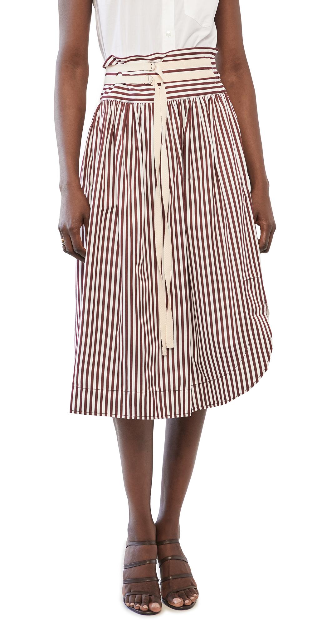 Lee Mathews Grace Stripe Skirt