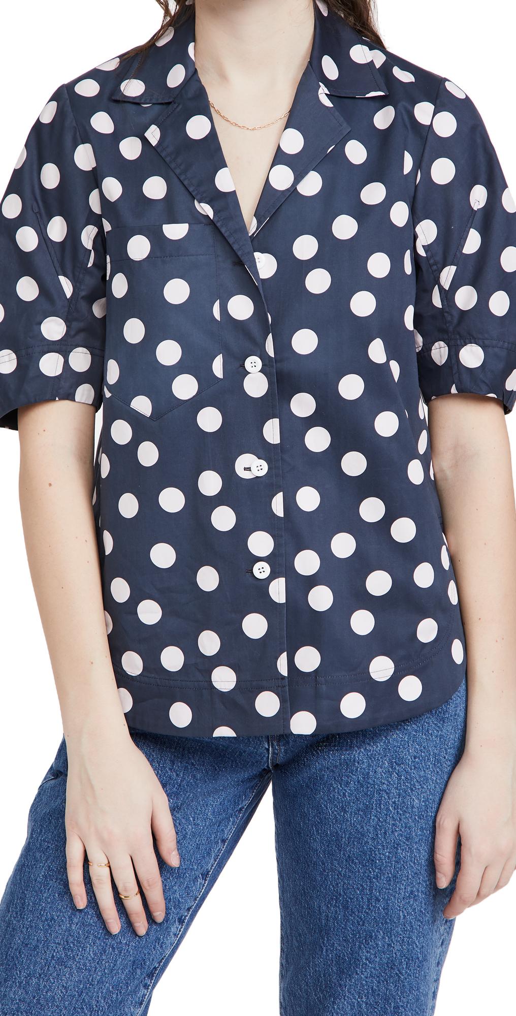 Lee Mathews Bea Cocoon Sleeve Shirt