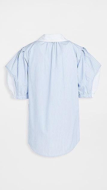 Lee Mathews Diana 有领女式衬衫