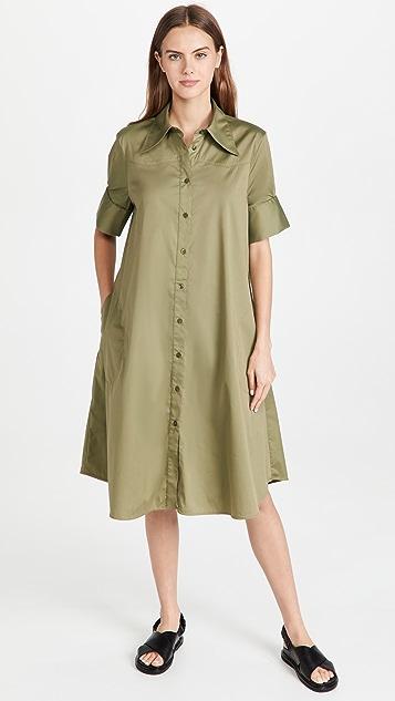 Lee Mathews Elizabeth Western Shirtdress