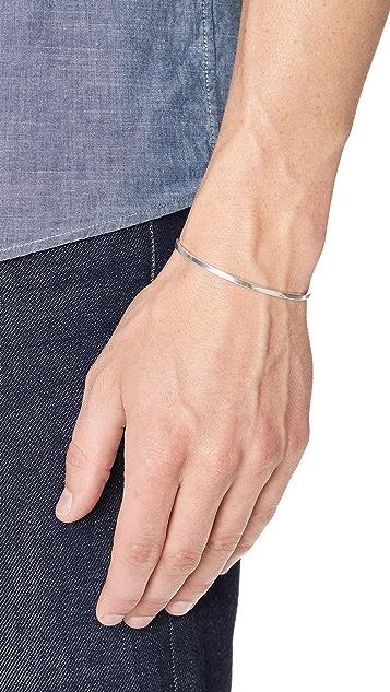 Le Gramme 7 Grammes Polished Bracelet
