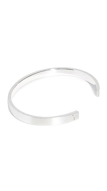 Le Gramme 15 Grammes Brushed Bracelet