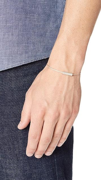 Le Gramme 5 Grammes Brushed Cable Bracelet