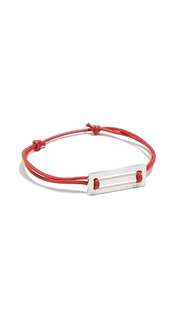 Le Gramme 25/10g Cord Bracelet