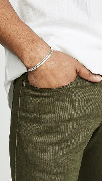 Le Gramme 7g Brushed Bangle Bracelet
