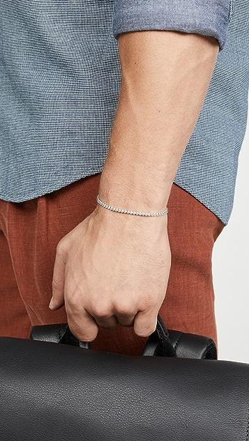 Le Gramme 11 Grammes Polished Beads Bracelet