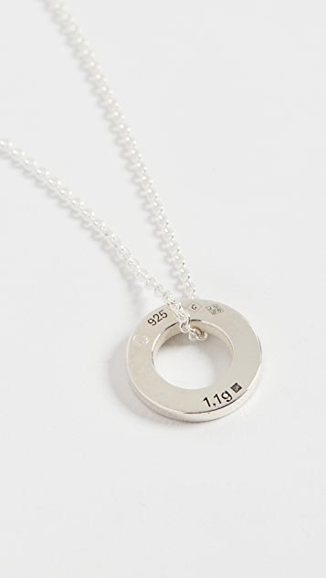 Le Gramme Round Necklace