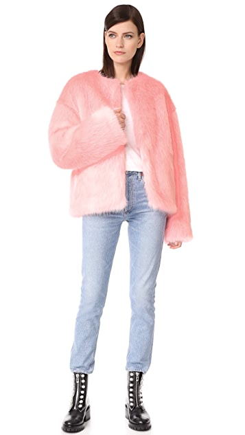 LEHA Hann Faux Fur Jacket
