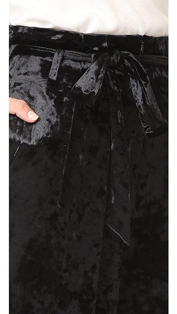 LEHA Velour Trouser