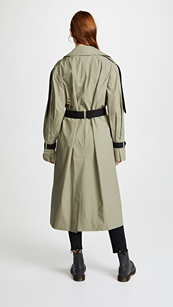 LEHA Over Trench Coat