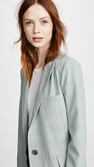 LEHA Check Jacket