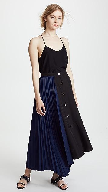 LEHA Pleats Combo Skirt