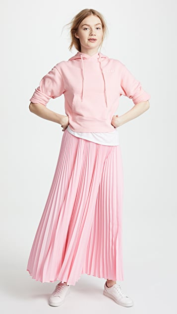 LEHA Long Pleats Skirt
