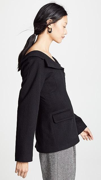 LEHA Off the Shoulder Jacket