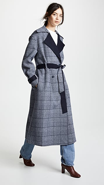 LEHA Check Coat
